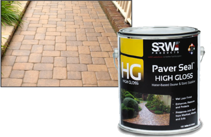 High Gloss Paver Seal