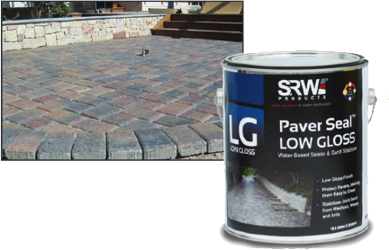 Low Gloss Paver Seal