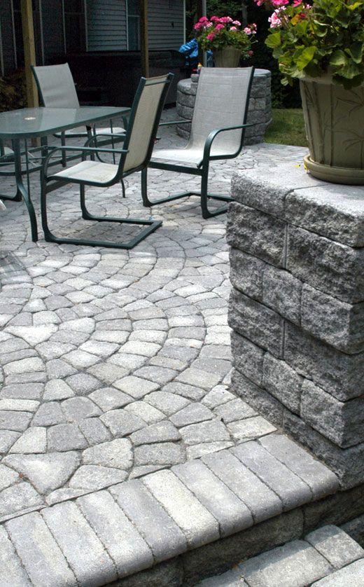 Roman Cobble Fishscale Antique